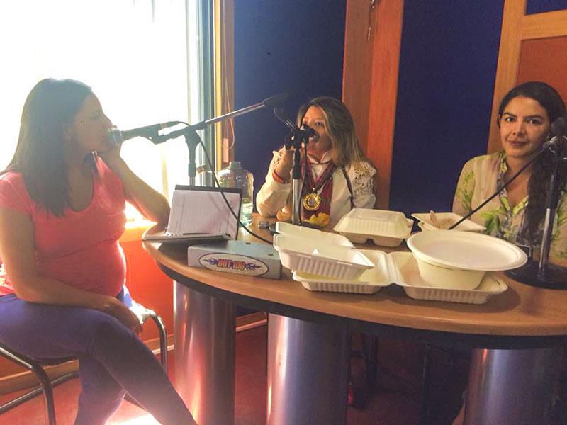 Entrevista de Radio Hot 106